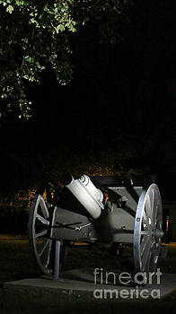 John Malone - Old Historic Cannon in Halifax at Night