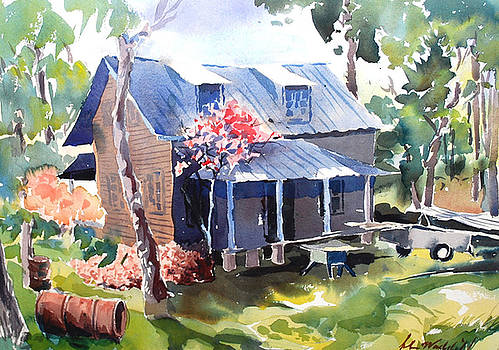 Old House by John Waddill