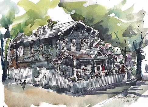 Old Hyde Parke Board House by Gaston McKenzie