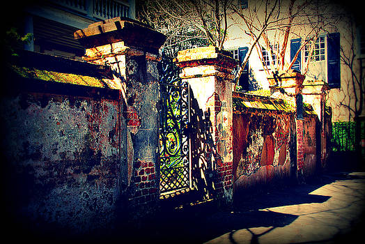 Susanne Van Hulst - Old Iron Gate in Charleston SC