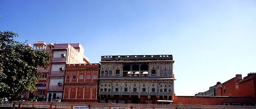 Old Jaipur by Baljit Chadha