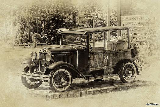 Old Jalopy in Wiscasset by Ken Morris