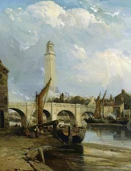 Webb James - Old Kew Bridge London 1885