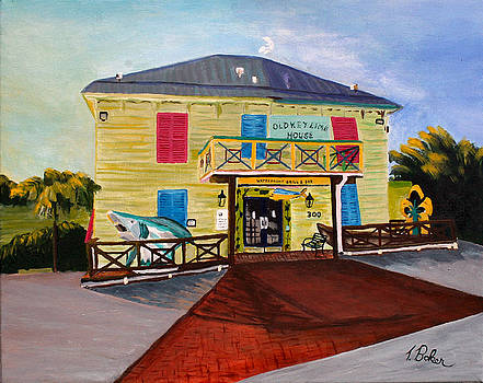 Old Keylime House by Tony Baker