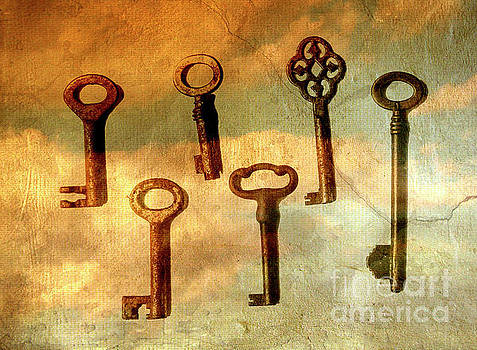 Old keys by Patricia Hofmeester