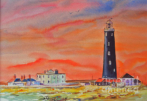 Old light house - Dungeness by Beatrice Cloake