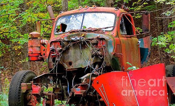 Old Mac Truck by Kathryn Barry