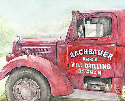 Old Mack Truck by Nigel Wynter