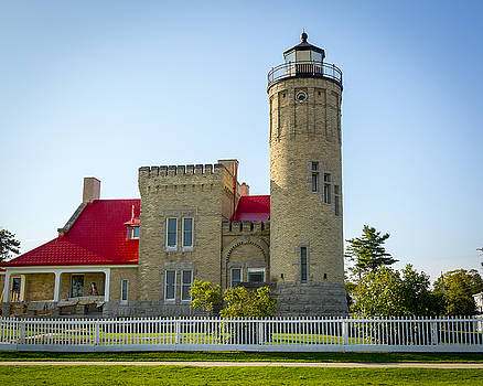 Jack R Perry - Old Mackinac Point Light