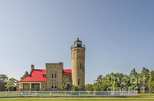Old Mackinac Point Lighthouse by Sue Smith