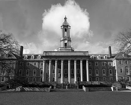 Old Main BW  by Christopher Kerby