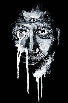 Old Man Portrait by ZileArt