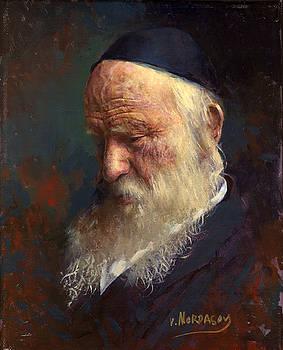 Old man by Victor Mordasov