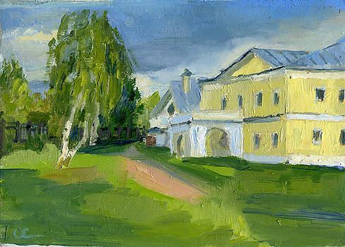 Old Manor In Sviblovo by Lelia Sorokina