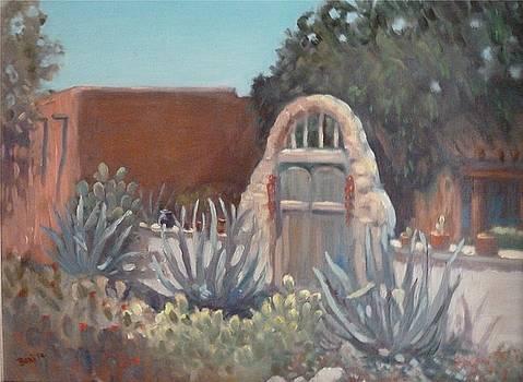 Old Mesilla Gate by Bonita Waitl