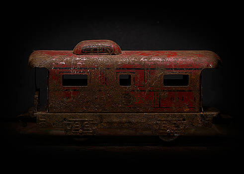 Art Whitton - Old Metal Toy Caboose