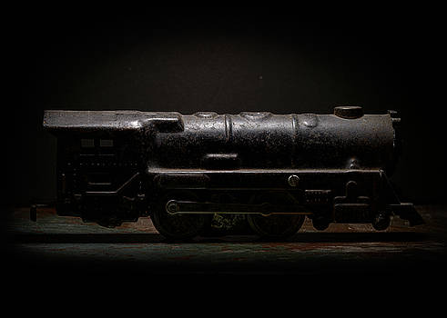 Art Whitton - Old Metal Toy Locomotive