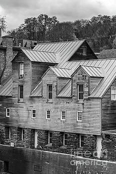 Old Mill Buildings by Edward Fielding
