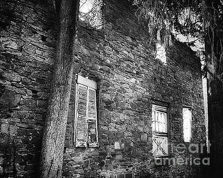 Old Mill House In Black and White by Tom Gari Gallery-Three-Photography