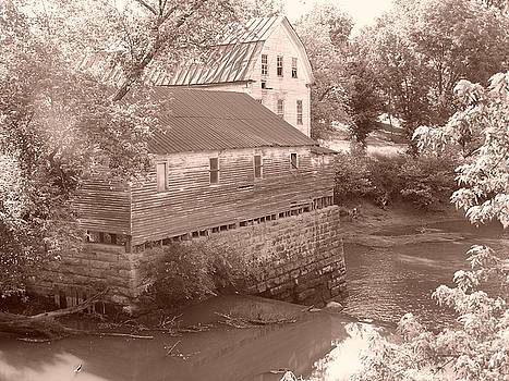 Old Mill by Mike Hazelwood