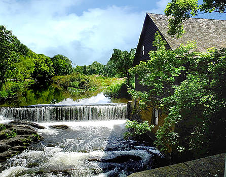 Old Mill Waterfalls by Terry Shoemaker