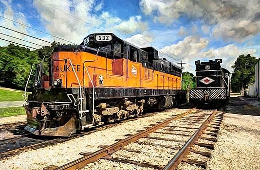Mel Steinhauer - Old Milwaukee Engine # 532
