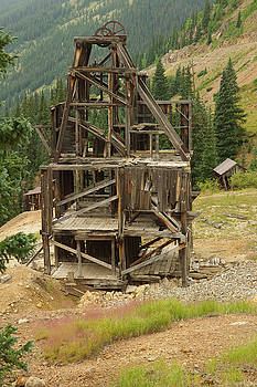 Old Mining Equipment by Jerry Mann