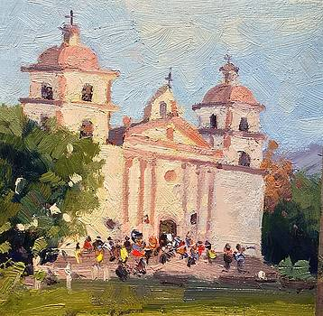 Old mission by Camille Dellar