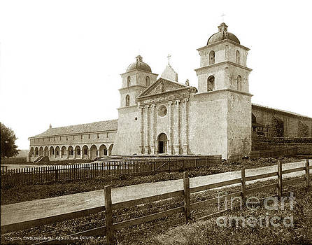 California Views Mr Pat Hathaway Archives - Old Mission Santa Barbara, Cal Circa 1895