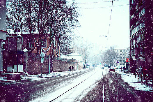 Jenny Rainbow - Old Moscow Street. Snowy Days in Moscow