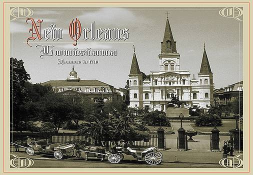 Peter Potter - Old New Orleans Louisiana - Founded 1718