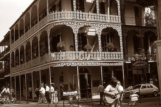 Peter Potter - Old New Orleans Photo - French Quarter Balconies