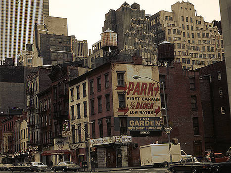 Peter Potter - Old New York City - 8th Avenue