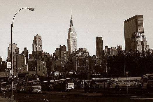 Peter Potter - Old New York Photo - Empire State Building and Midtown Skyline