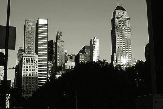Art America Gallery Peter Potter - Old New York Photo - Midtown Manhattan Skyscrapers