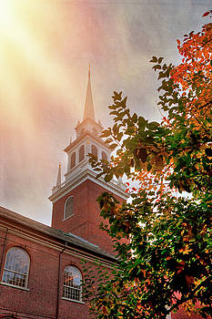 Old North Church - Boston by Joann Vitali
