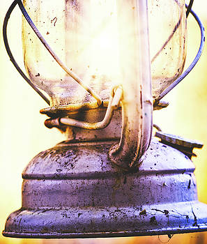 Old Oil Lamp by Bob Orsillo
