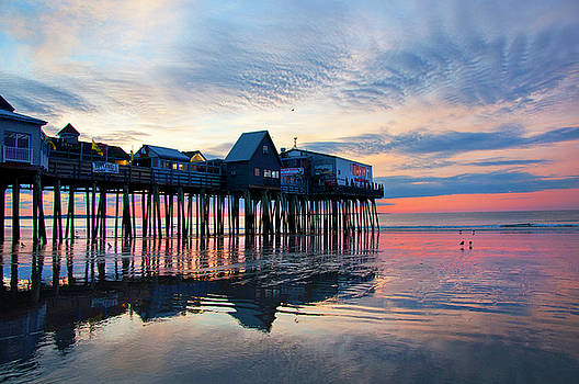 Joann Vitali - Old Orchard Beach Sunrise - Maine