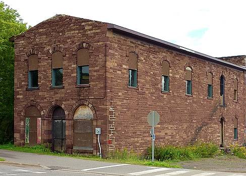 Old Ore Office in the U. P. by Susan Wyman
