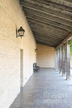 Old Outside Corridor by Henrik Lehnerer