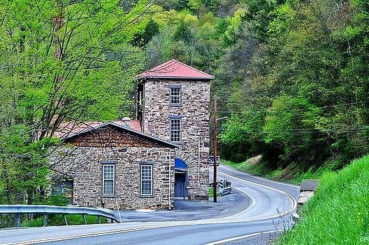 Old Paint Mill Spring Time by Stephanie Calhoun