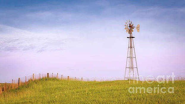 Old Palouse Windmill by Jerry Fornarotto