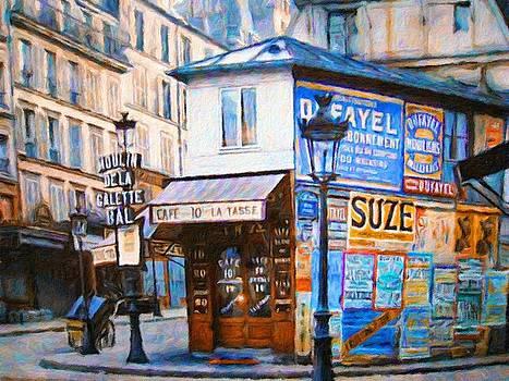Old Paris Cafe by Vincent Monozlay