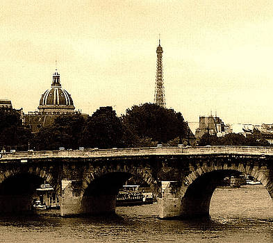 Old Paris in the Square by Leonard Rosenfield