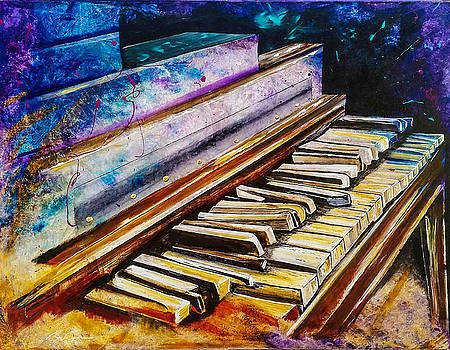 Old Piano by Brien Hockman
