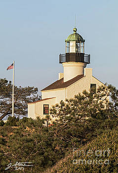 Old Point Loma Lighthouse by Jeffrey Stone