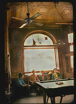 Old Pool Hall by JDon Cook