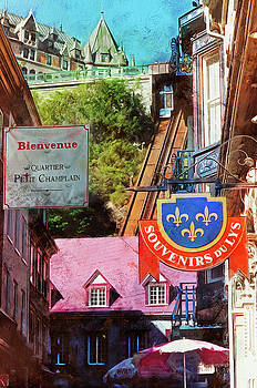Thom Zehrfeld - Old Quebec City Funicular
