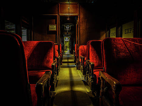Old Rail Seating by Randall Dunphy