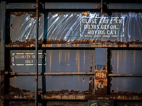 Old Railroad Boxcar  by Bob Orsillo